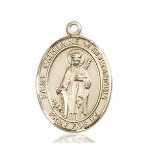 St. Catherine of Alexandria Medal - 82797 Saint Medal