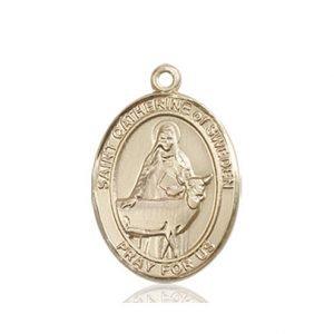 St. Catherine of Sweden Medal - 84151 Saint Medal