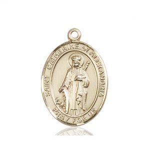 St. Catherine of Alexandria Medal - 84169 Saint Medal