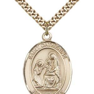 St. Catherine of Siena Medal - 81936 Saint Medal