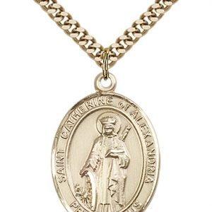 St. Catherine of Alexandria Medal - 82796 Saint Medal