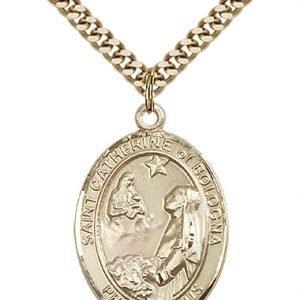 St. Catherine of Bologna Medal - 82817 Saint Medal