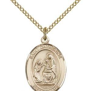 St. Catherine of Siena Medal - 83305 Saint Medal