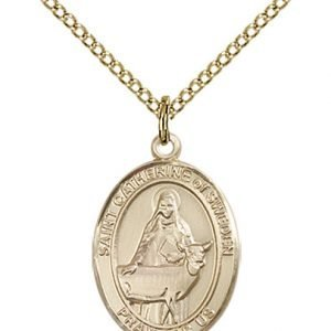St. Catherine of Sweden Medal - 84150 Saint Medal