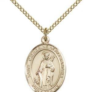 St. Catherine of Alexandria Medal - 84168 Saint Medal