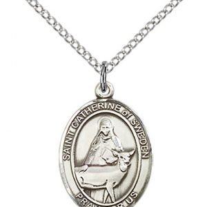 St. Catherine of Sweden Medal - 84152 Saint Medal