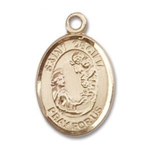 St. Cecilia Charm - 14 Karat Gold Filled (#84499)