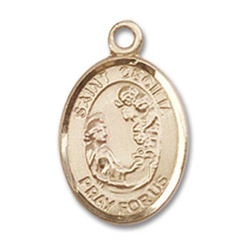 St. Cecilia Charm - 14 Karat Gold Filled (#84499)
