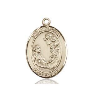 St. Cecilia Medal - 83312 Saint Medal