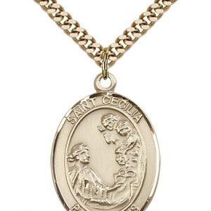 St. Cecilia Medal - 81942 Saint Medal