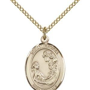 St. Cecilia Medal - 83311 Saint Medal