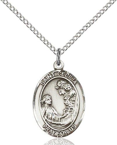 St. Cecilia Medal - 19063 Saint Medal