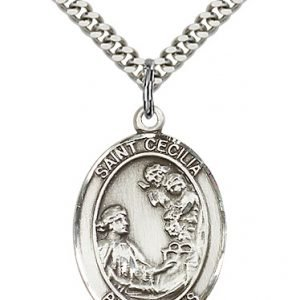 St. Cecilia Medal - 81944 Saint Medal