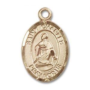 St. Charles Borromeo Charm - 14 Karat Gold Filled (#84511)