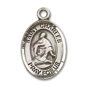 St. Charles Borromeo Charm - Sterling Silver (#84513)