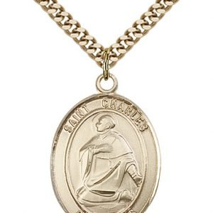 St. Charles Borromeo Medal - 81954 Saint Medal