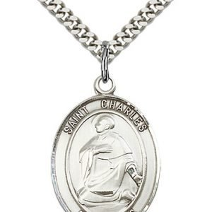 St. Charles Borromeo Medal - 81956 Saint Medal