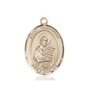 St. Christian Demosthenes Medal - 83944 Saint Medal
