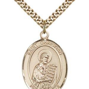 St. Christian Demosthenes Medal - 82571 Saint Medal