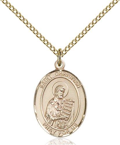 St. Christian Demosthenes Medal - 83943 Saint Medal