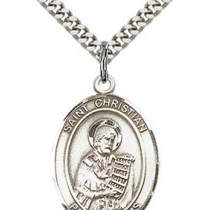 St. Christian Demosthenes Medal - 82573 Saint Medal