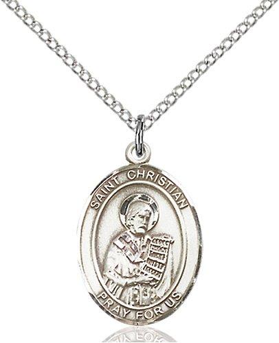St. Christian Demosthenes Medal - 83945 Saint Medal