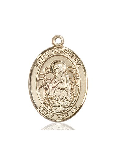 St. Christina the Astonishing Medal - 82731 Saint Medal