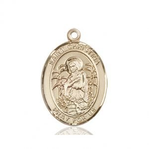 St. Christina the Astonishing Medal - 84103 Saint Medal