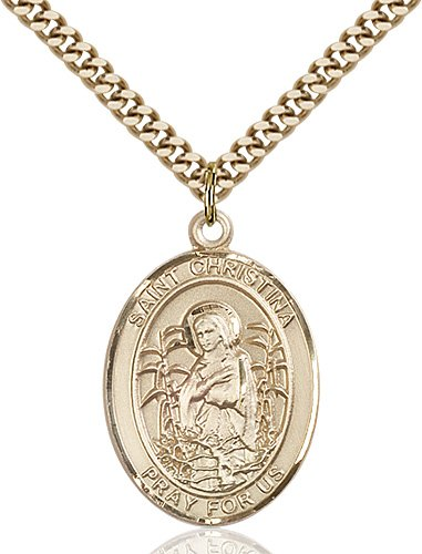 St. Christina the Astonishing Medal - 82730 Saint Medal