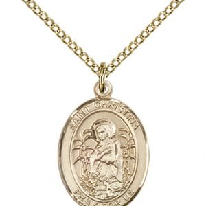 St. Christina the Astonishing Medal - 84102 Saint Medal