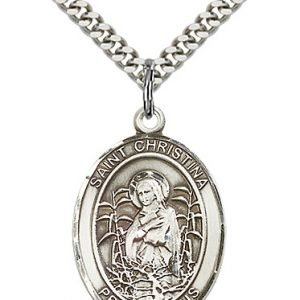 St. Christina the Astonishing Medal - 82732 Saint Medal