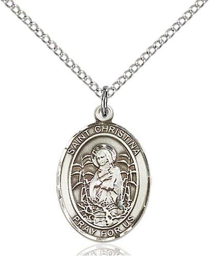 St. Christina the Astonishing Medal - 84104 Saint Medal