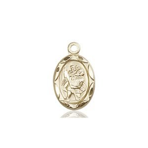 St. Christopher Charm - 84406 Saint Medal