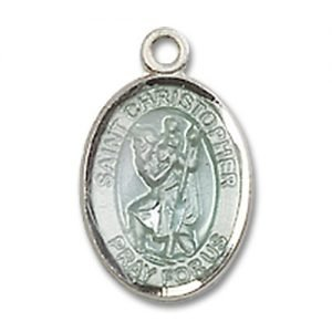 St. Christopher Charm - Sterling Silver (#84522)