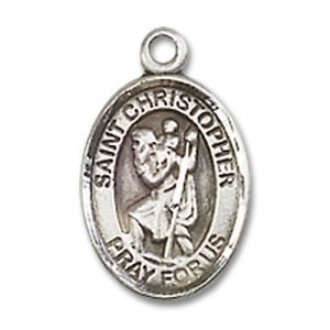 St. Christopher Charm - Sterling Silver (#M0050)
