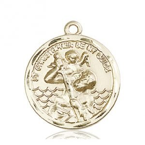 St. Christopher Medal - 81570 Saint Medal