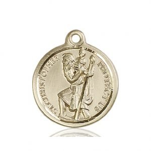 St. Christopher Medal - 81586 Saint Medal