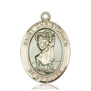 St. Christopher Medal - 81964 Saint Medal