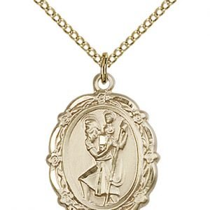 St. Christopher Medal - 81792 Saint Medal