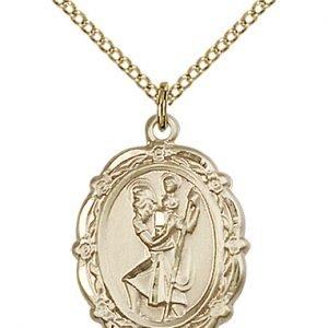St. Christopher Medal - 81792 Saint Medal