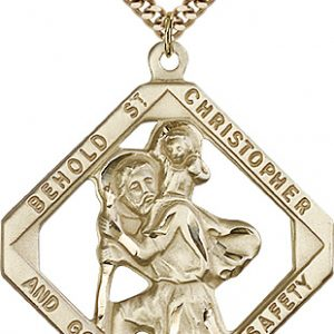 St. Christopher Medal - 81850 Saint Medal