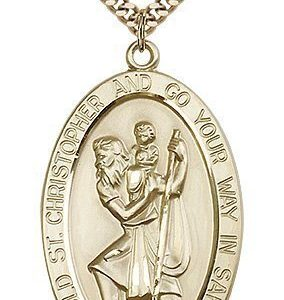 St. Christopher Medal - 81871 Saint Medal