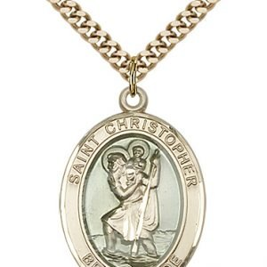 St. Christopher Medal - 81963 Saint Medal