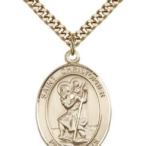 St. Christopher Medal - 81966 Saint Medal