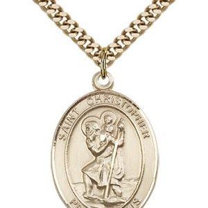 St. Christopher Medal - 81966 Saint Medal