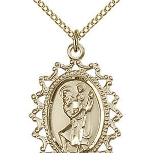 St. Christopher Medal - 83103 Saint Medal