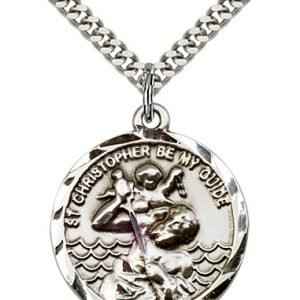 St. Christopher Medal - 81571 Saint Medal