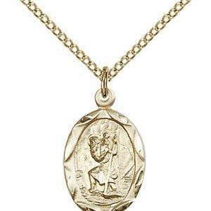 St. Christopher Pendant - 83036 Saint Medal