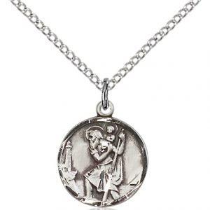 St. Christopher Pendant - 83011 Saint Medal