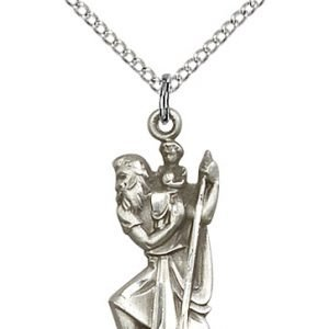 St. Christopher Pendant - 81882 Saint Medal